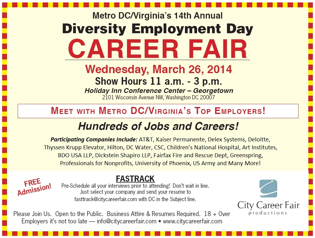 wanted national career fair