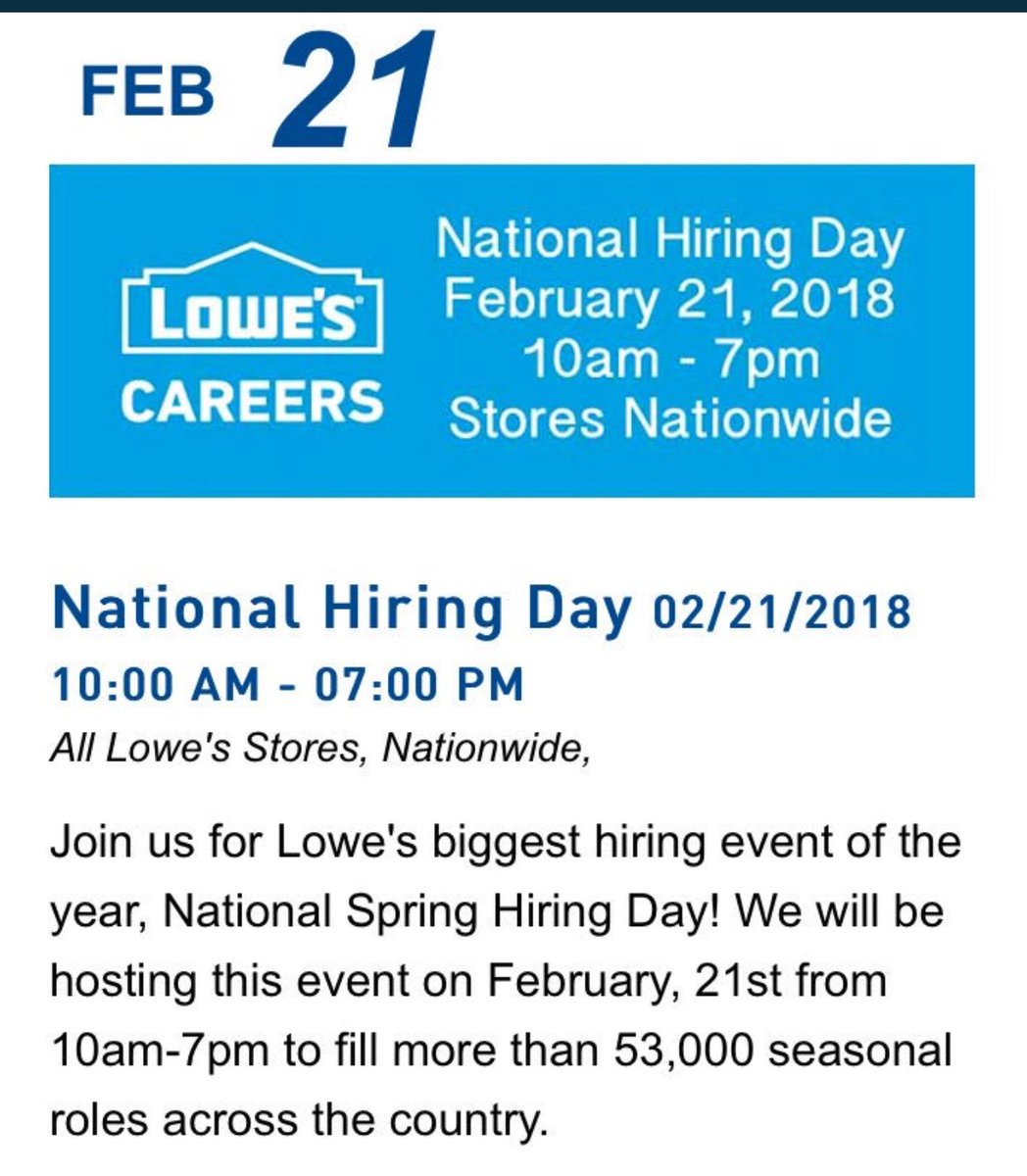 National Hiring Day | Virginia Employment Commission