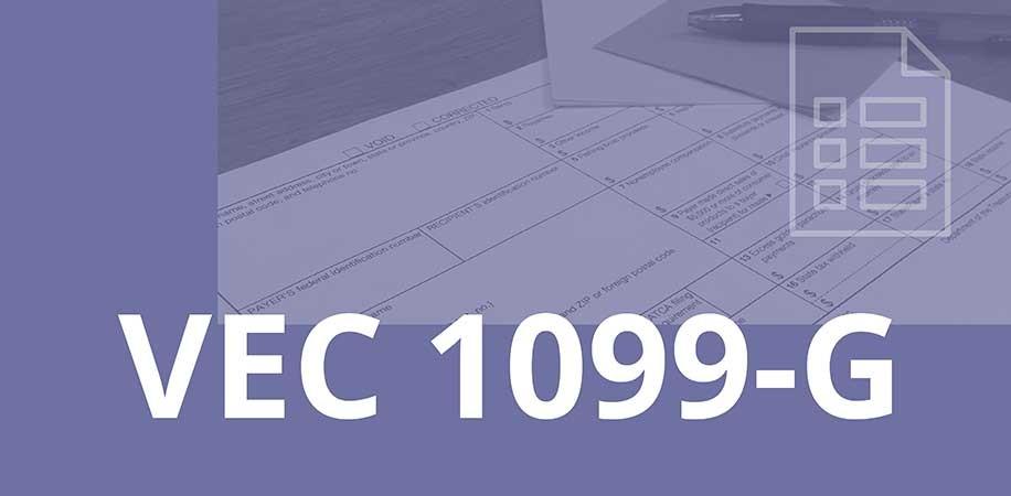 VEC 1099-G Tax Information