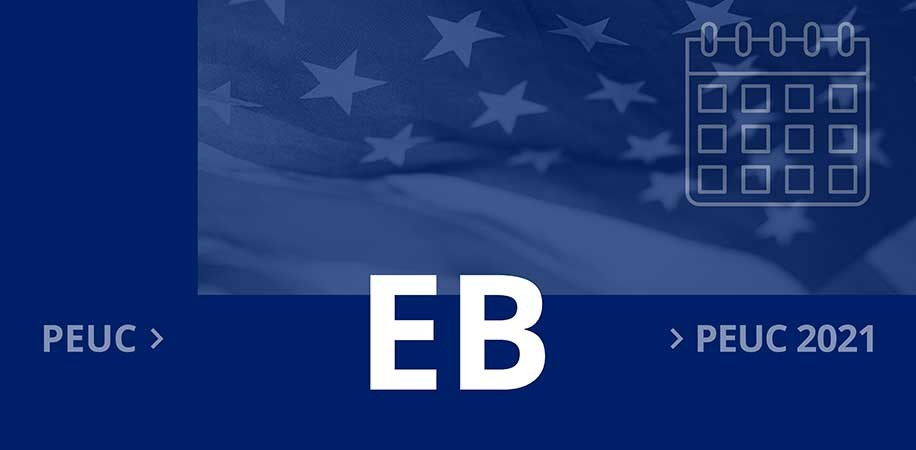 Initial application for Extended Benefits (EB)