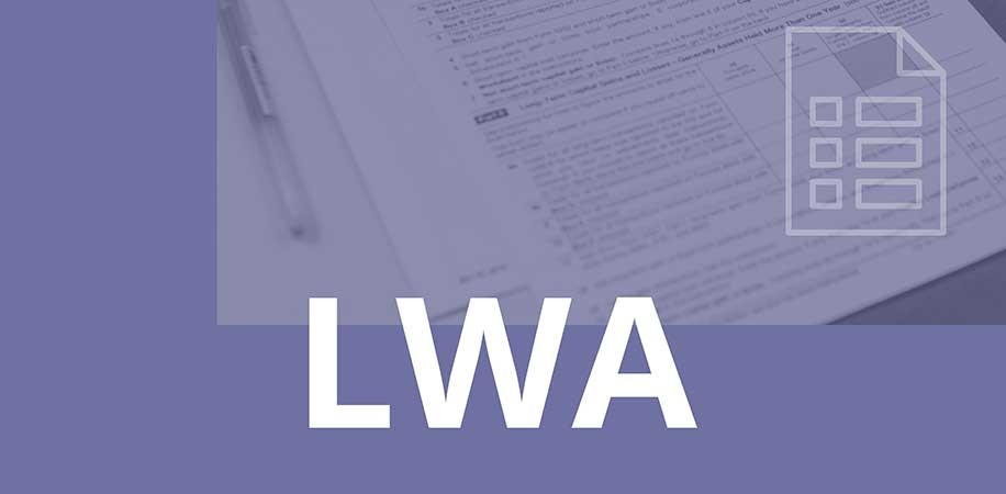 Application for Lost Wages Assistance (LWA)