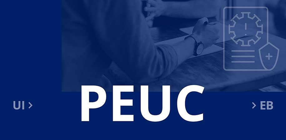 Initial application for Pandemic Emergency Unemployment Compensation (PEUC)