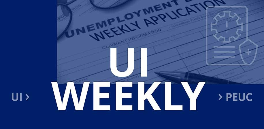 Weekly application for Unemployment Insurance Benefits