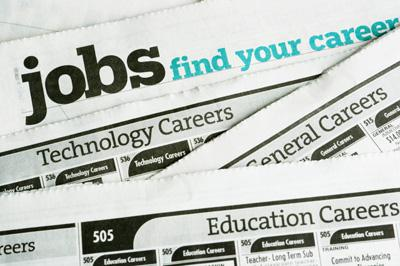 Newspaper Job Listings